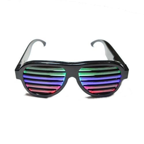 Oculos-Preto-Com-Luz-Led-Ativado-Por-Som-Multi-Color-1