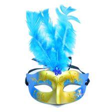 Mascara-Com-Luz-Led-Modelo-Feather-Azul-1