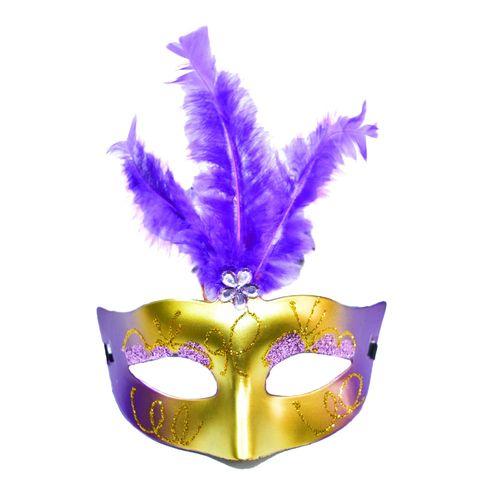 Mascara-Com-Luz-Led-Modelo-Feather-Roxo-1