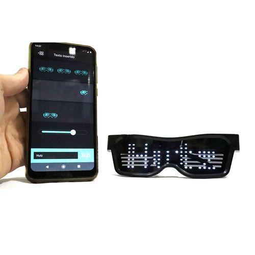 Oculos-Led-Magic---Mensagem-Hutz