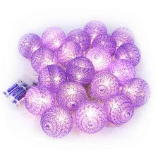 Cordao-Fio-de-Luz-LED-com-20-Bolinhas-Cotton-Lilas-1