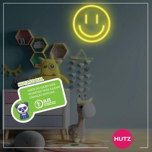 Placa-Neon-LED-Smile-Amarelo