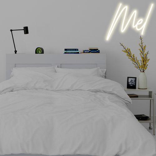 Letreiro Neon de LED Personalizada - Nome, frase ou palavra com 3 Letras - Branco Quente