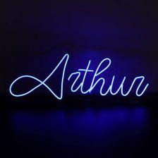 letreiro-neon-azul-de-led-nome-arthur-com-6-letras