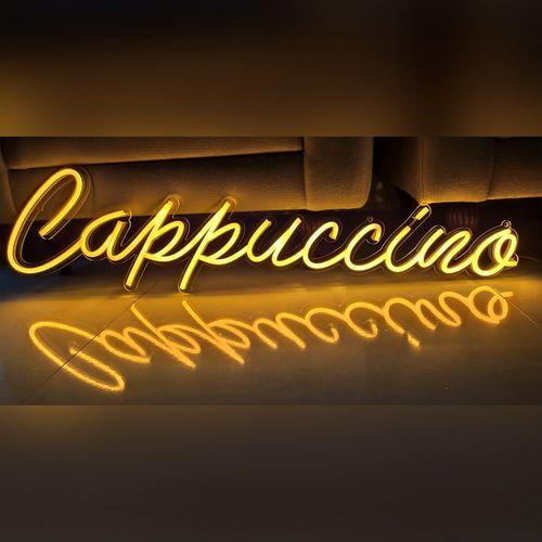letreiro-neon-led-amarelo-cappuccino