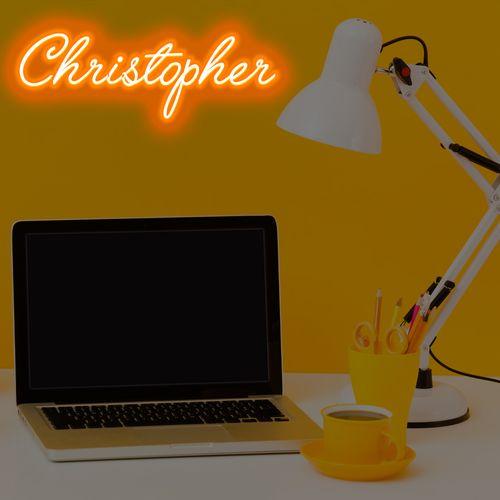 letreiro-com-mangueira-de-led-neon-laranja-nome-christopher